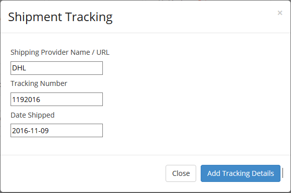 shipment tracking system-forstep style marketplace