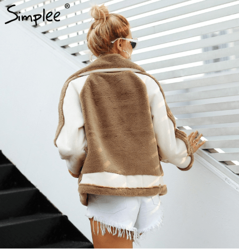 BROWN-SHORT-COAT-JACKET-JOJO-NET-FORSTEP-STYLE