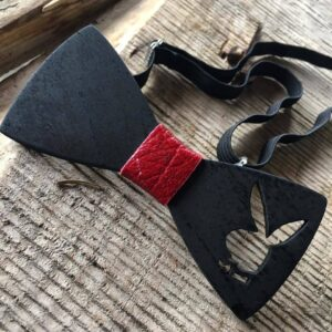 Unique Handcrafted Wooden Bow Ties - bowties made from wood with playboy rabbit