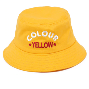 women-bucket-hat-vintage-style-yellow-90's-fashion-streetwear-forstep style-marketplace
