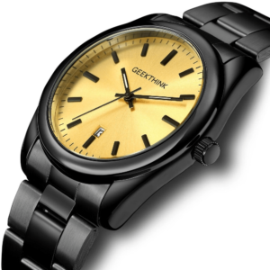 Wrist Watch For Men Casual Dress Made From Steel Quartz Fashion Business Luxury Clock 1