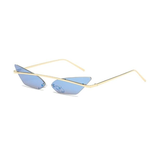 blue cat eye sunglasses - cheap vintage sunnglases
