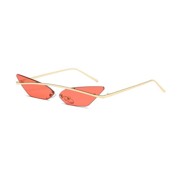 red cat eye sunglasses - cheap vintage sunnglases