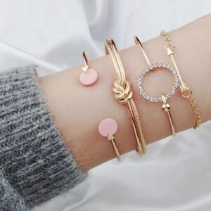 multi layered golden bracelet - cheap women's bracelets