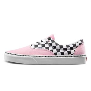 ERA-95-pink-vans-shoes-checkerboard-black&white-classic-vans