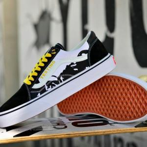 cool-vans-shoes-rare-vans-old-skool-skate-shoe-black-yellow-classic-mens-vans-shoe