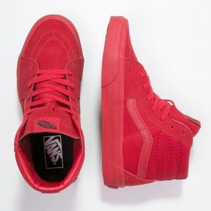 all-red-vans-high-top-shoes-sk8-hi-red-inisex