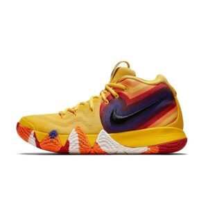 0-1b6ea6.Nike Kyrie 4 Yellow Basketball Shoes For Men