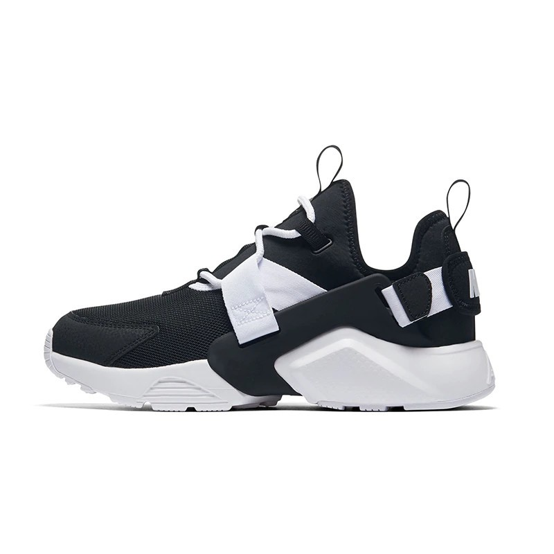 best prices sale new arrivals NIKE AIR HUARACHE CITY LOW Unisex Streetwear Nike Sneakers Mesh Breathable  Trainers For Men & Women (Black and White, Pink, Blue)