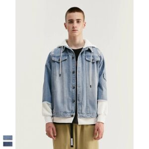 light blue denim jacket mens