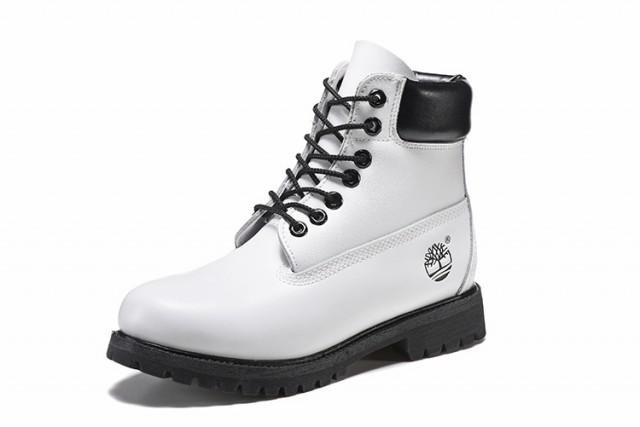 timbelrand boots white