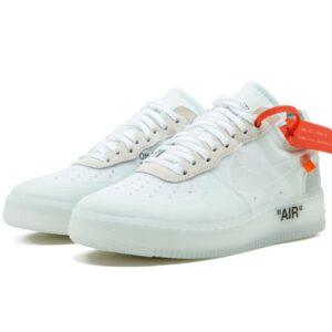 AF1 OFF WHITE Nike Air Force Shoes - White Color 1