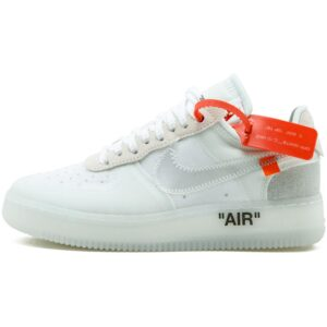 AF1 OFF WHITE Nike Air Force Shoes - White Color 2