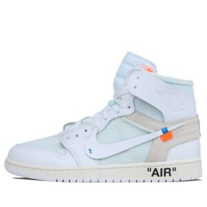 Nike Air Jordan 1 x Off White Chicago All White Color 1 AQ8296