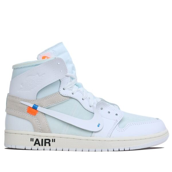 Nike Air Jordan 1 x Off White Chicago All White Color 2 AQ8296