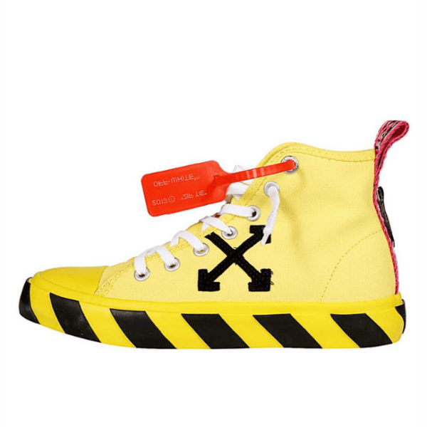 off white yellow shoes