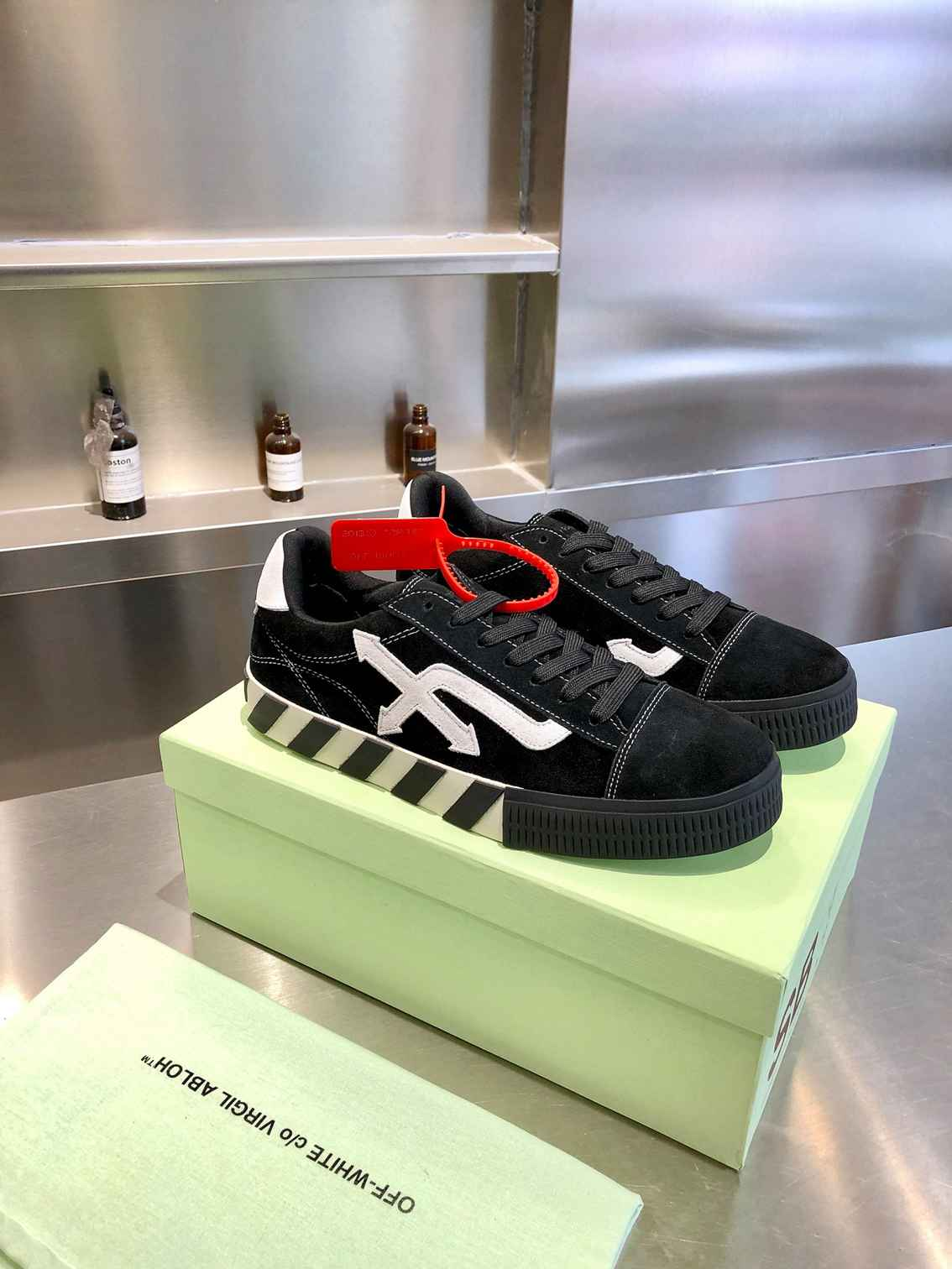 off white sneakers