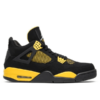 jordan 4 black and yellow