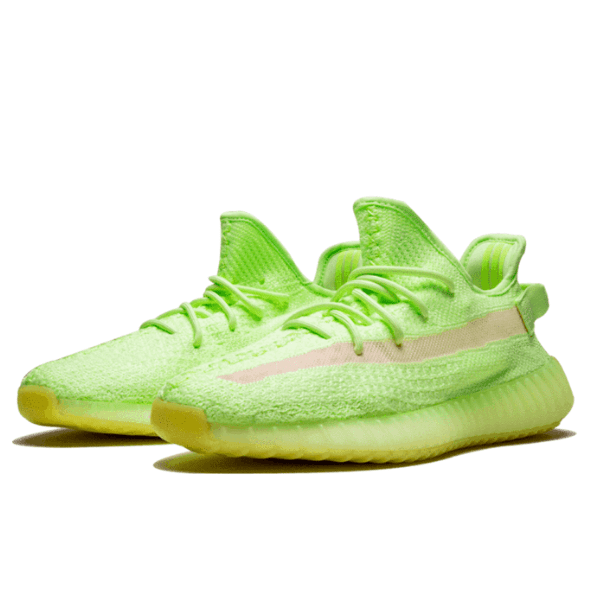 yeezy green shoes