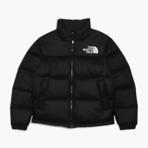 north face puffer jacket black