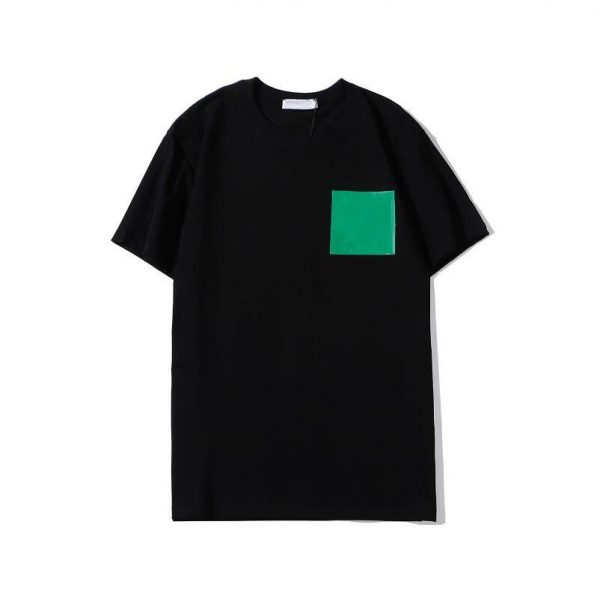black and green tee