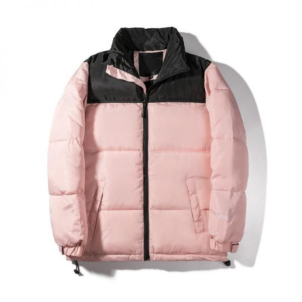 north face puffer jacket pink
