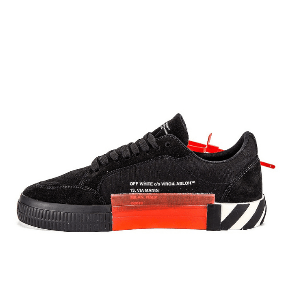 off white vulcanized suede shoes