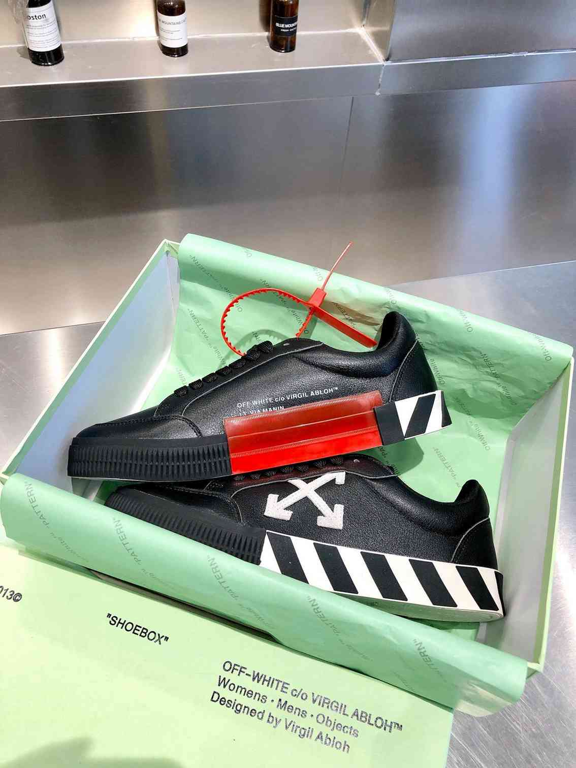 off white sneakers sole