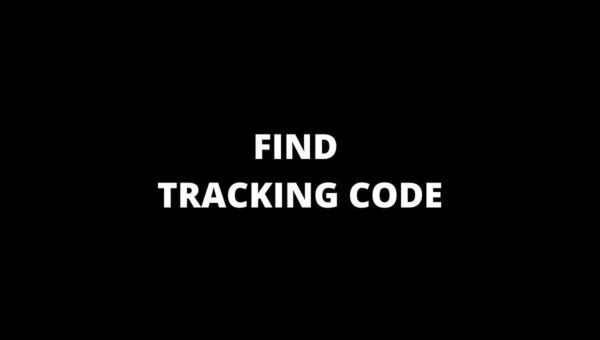 FIND TRACKING CODE